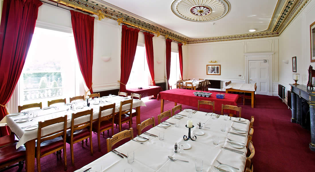 Rydal Hall's Dining Room